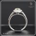 แหวนเพชรล้อม เซอร์ GIA