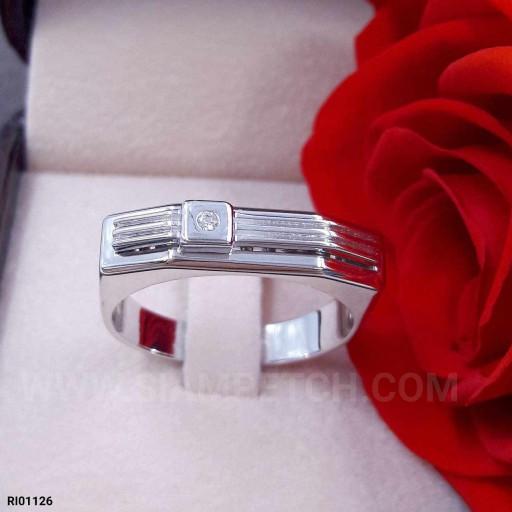 แหวนเพชร 0.02 กะรัต น้ำ100 RI01126