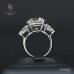 แหวนเพชร  7 กะรัต เซอร์ HRD RI04554
