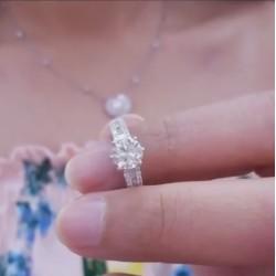แหวนเพชรGIA 1.01กะรัต ✨ร้านเพชรสยามเพชร