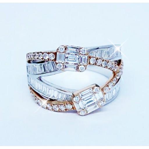 แหวนเพชร 1.27กะรัต น้ำ99